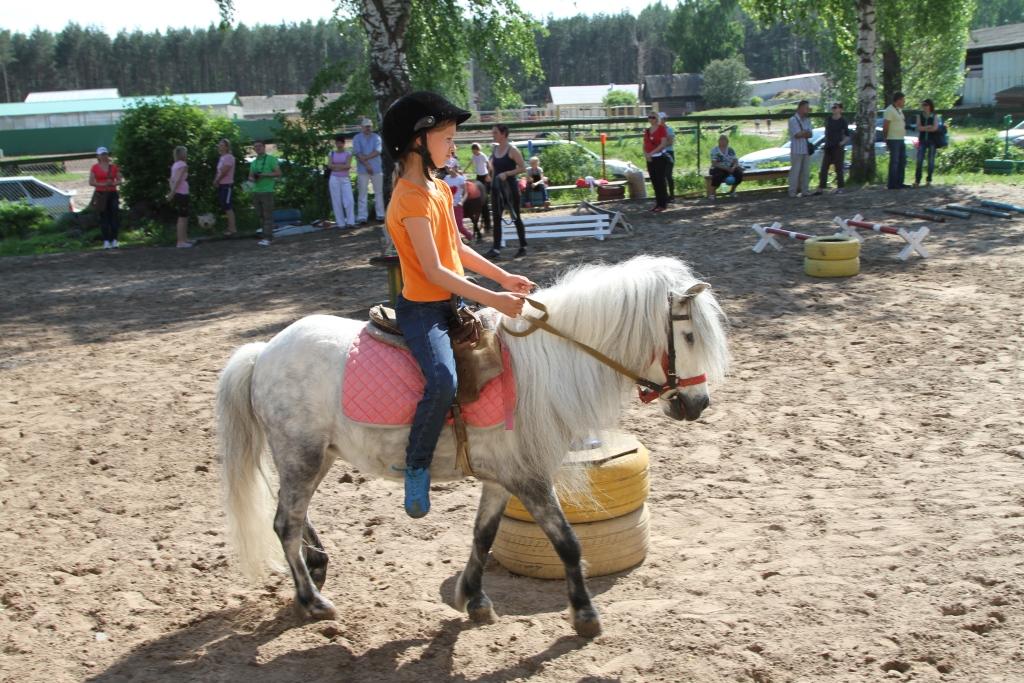 Занятия по верховой езде на пони